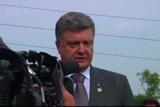 Petro Porosenko, provocat la duel de un lider separatist.