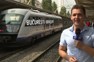 Oricine poate calatori cu propriul tren inchiriat. Un om de afaceri a platit 40.000 de euro ca sa traverseze Romania singur