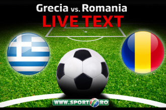 Grecia 0-1 Romania. Marica a marcat unicul gol din penalty, apoi a fost eliminat