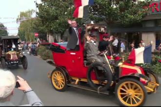 Omagiu adus taximetristilor care au transportat soldatii pe front in Primul Razboi Mondial, la Paris