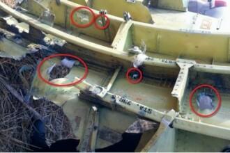 Primul raport asupra cauzelor prabusirii zborului MH17: A fost strapuns de numeroase obiecte cu mare viteza