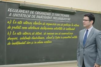 Noua ordine din scolile romanesti, in dezbatere publica. Cum ar putea fi obligati elevii sa renunte la absente si telefoane