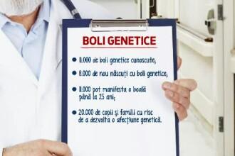 Statul ar putea deconta testele pentru depistarea mutatiilor genetice. 8.000 de copii se nasc anual cu astfel de probleme