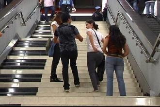 Ideea unor profesori din Mexic pentru a promova urcatul pe scari. Ce se intampla cand calci pe aceste trepte