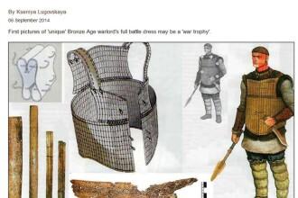 In Siberia a fost descoperita o armura din oase, veche de cel putin 3.500 de ani