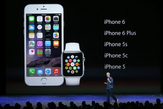 Cifra record pentru Apple. Numarul precomenzilor de iPhone 6 s-a ridicat la 4 milioane de unitati in prima zi
