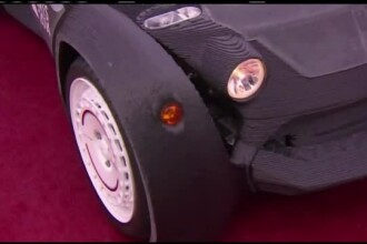 Inginerii americani au scos la o imprimanta 3D prima masina care poate fi condusa. Este electrica si se numeste Strati