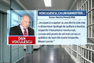 De ce a fost condamnat Dan Voiculescu. In motivarea sentintei, judecatorii il compara cu un celebru gangster american
