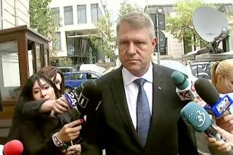 Klaus Iohannis si-a depus candidatura cu 2,2 milioane de semnaturi.