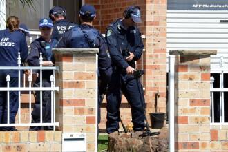 Cea mai mare actiune antiterorista din istoria Australiei. Statul Islamic planuia decapitarea unui om la intamplare