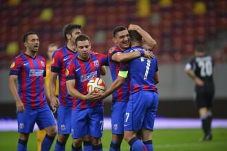 STEAUA - AALBORG 6-0. Debut fantastic pentru Steaua in grupele Europa League. Stelistii au dat toate golurile in 20 de minute