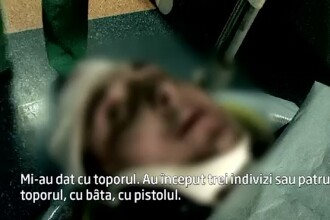 Taximetrist atacat de patru tineri inarmati in centrul orasului Suceava. Cum s-a terminat intregul incident