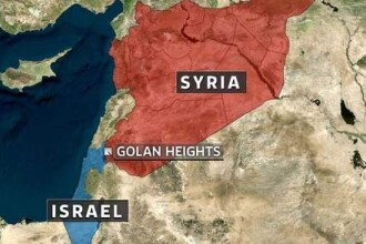 Armata israeliana anunta ca a doborat un avion sirian in platoul Golan