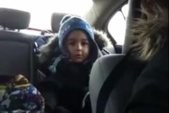 Reactia unui pusti de 4 ani cand afla ca fata de care ii place vorbeste si cu alti baieti. VIDEO