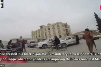 O femeie dezvaluie cum se traieste sub teroarea raspandita de Statul Islamic printr-o filmare cu camera ascunsa. VIDEO