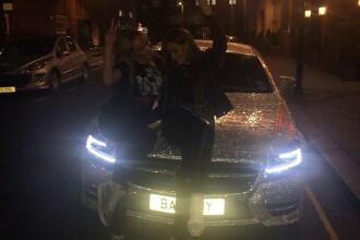Si-a acoperit Mercedesul cu cristale Swarowski pentru ca n-a avut bani de diamante. Studenta din Moldova care a uimit Londra