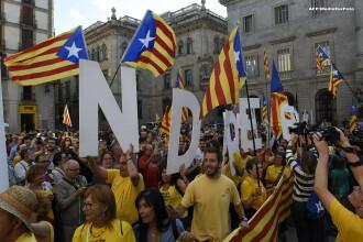 Atmosfera tensionata in Spania. Catalonia vrea sa organizeze un referendum pentru independenta, insa Guvernul se opune