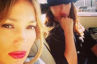 Jennifer Lopez, implicata intr-un accident rutier.