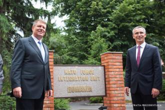 """Iohannis: """"România va susține sporirea rolului NATO în combaterea terorismului"""""""