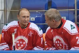 Vladimir Putin a jucat hochei la Soci. Moment tensionat in timpul partidei dintre