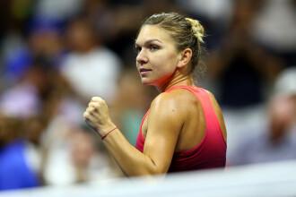 Simona Halep s-a calificat in optimile de finala de la US Open. Primele declaratii ale sportivei dupa meci
