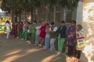 Greva spontana la centrul de neuropsihiatrie din Targu Jiu. Nemultumirile angajatilor cu privire la conditii si salarii