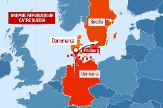 Nou punct fierbinte pe harta migratiei din Europa. Ungaria a anuntat ca va incepe returnarea refugiatilor catre Serbia