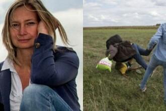 Un grup de hackeri a atacat site-ul televiziunii ungare N1 TV, unde era angajata femeia care a lovit cu piciorul in imigranti