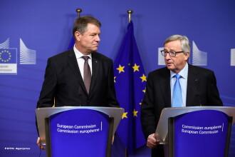 Iohannis se va întâlni cu președintele CE, pentru a discuta despre Legile Justiției