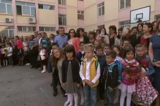 Prima zi de scoala: emotii pentru 3 milioane de elevi, care au spus
