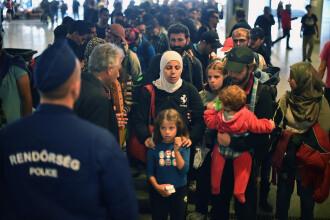 Politia ungara a inchis principalul punct de intrare a migrantilor in tara. Peste 5.000 de persoane au trecut granita luni