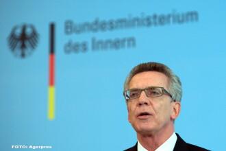 Ministrul german de Interne Thomas de Maiziere vrea ca Berlinul sa trimita migranti inapoi in Grecia