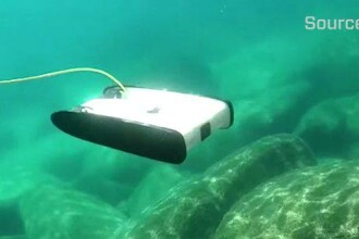 VIDEO Cum arata drona subacvatica conceputa de un fost inginer NASA