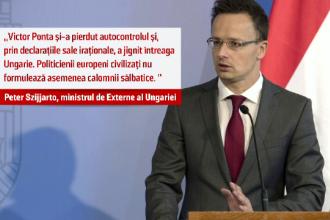Scandal diplomatic intre Budapesta si Bucuresti. Ambasadorul Ungariei, convocat la MAE pentru