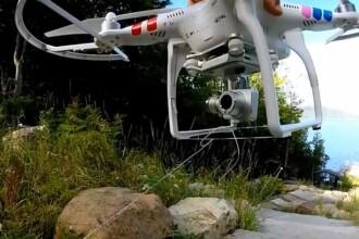 Clipul in care un tata ii scoate dintele de lapte fiicei sale cu ajutorul unei drone, viral pe internet. VIDEO