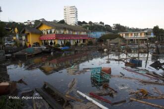 10 morti si 1 milion de oameni evacuati in urma cutremurului de 8,3 din Chile. Seismul a provocat valuri de 4,5 metri. VIDEO