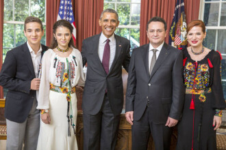 George Maior, ambasadorul Romaniei in SUA, si-a prezentat scrisorile de acreditare presedintelui Barack Obama
