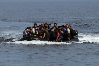 O refugiata siriana a nascut pe o plaja din Grecia, imediat ce a coborat din barca. Imaginile sunt cutremuratoare