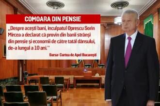 Comoara din pensie. Procurorii au gasit acasa la Sorin Oprescu 31.000 de lei si 18.000 de euro, bani