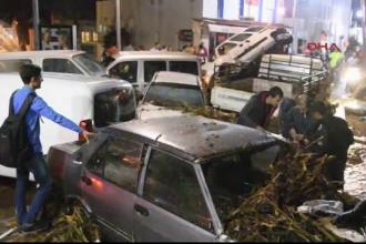 Dezastru in Bodrum dupa o ploaie de numai trei ore. Localnicii dau vina pe lucrarile publice desfasurate de primarie