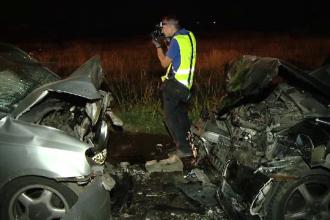 Accident grav in apropiere de Timisoara. Tragedia provocata de un sofer care se grabea sa petreaca alaturi de prieteni