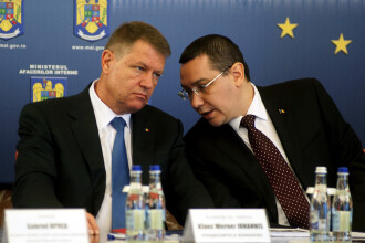 Ponta ataca referendumul pe justitie cerut de Iohannis: