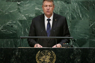 Klaus Iohannis a sustinut un discurs la ONU. Cat de bine vorbeste presedintele Romaniei in limba engleza. VIDEO
