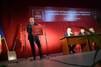 Liviu Dragnea si-a lansat candidatura la sefia PSD atacandu-l pe Iliescu. Politicianul a suferit un accident vestimentar