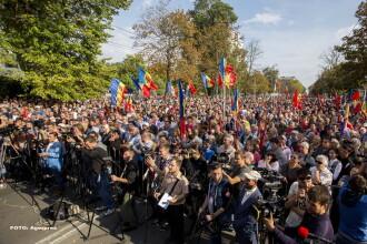 Partidele de stanga proruse s-au alaturat protestelor de la Chisinau. Ce prevad masurile pentru