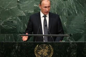 Discursul lui Vladimir Putin la Adunarea Generala a ONU. Presedintele rus il vede pe Assad ca pe
