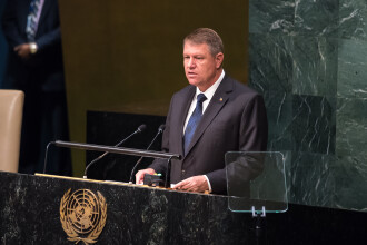 Klaus Iohannis, după eșecul la ONU: Eforturile diplomatice depuse au fost boicotate