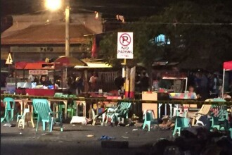 Explozie in Filipine. Cel putin 10 oameni au murit si 60 sunt raniti