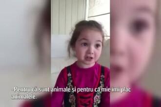 Explicatia unei fetite atunci cand mama o intreaba de ce nu vrea sa mai manance carne. Imaginile au cucerit internetul