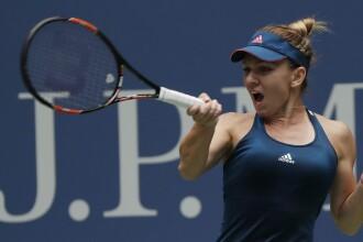 Victorie spectaculoasa pentru Simona Halep. Romanca s-a calificat in optimile de finala la US Open